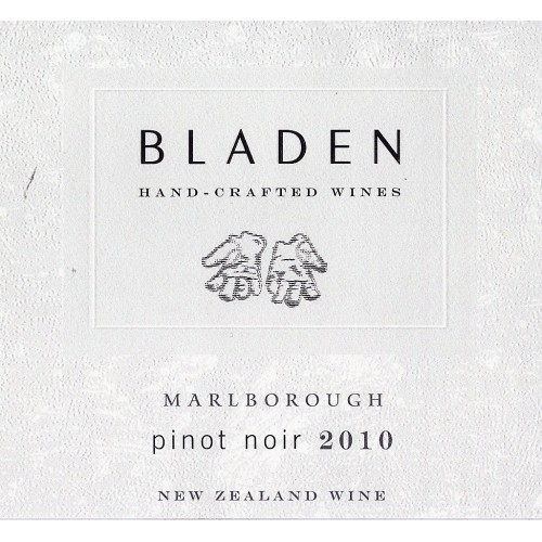 "Bladen Marlborough Pinot Noir  ""The Old Block"" 2016"